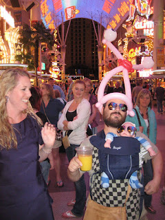 Anna with Alan from the Hangover.