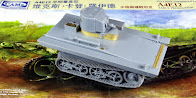 Paul builds CAM Models new A4e12 Vickers Carden Lloyd (VCL) Amphibious Tank