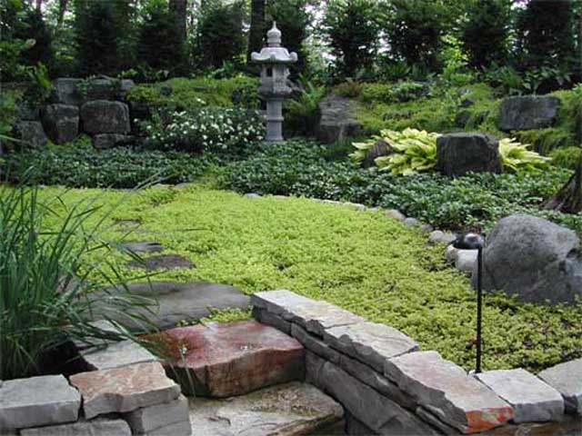 Simple garden designs for Simple japanese garden plans