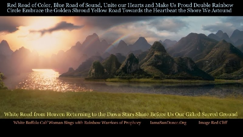 White Buffalo Calf Woman Sings ~ Great Names ~ for Rainbow Warriors of Prophecy