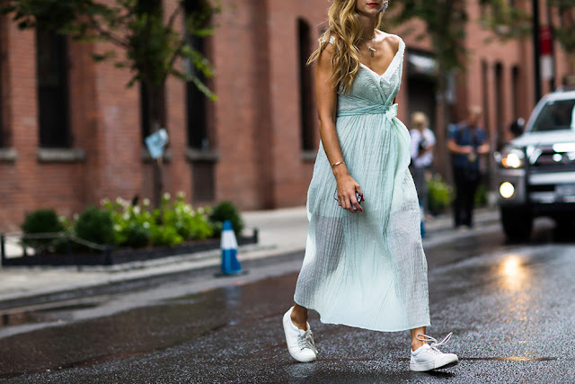 NY Fashion Week SS16 Street Style