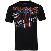MMA Elite Men's UK T-Shirt - Black