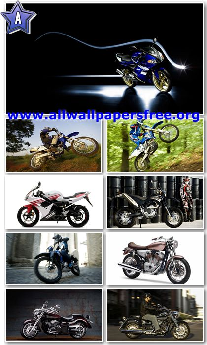 60 Amazing Motorcycles HD Wallpapers 1366 X 768 [Set 14]