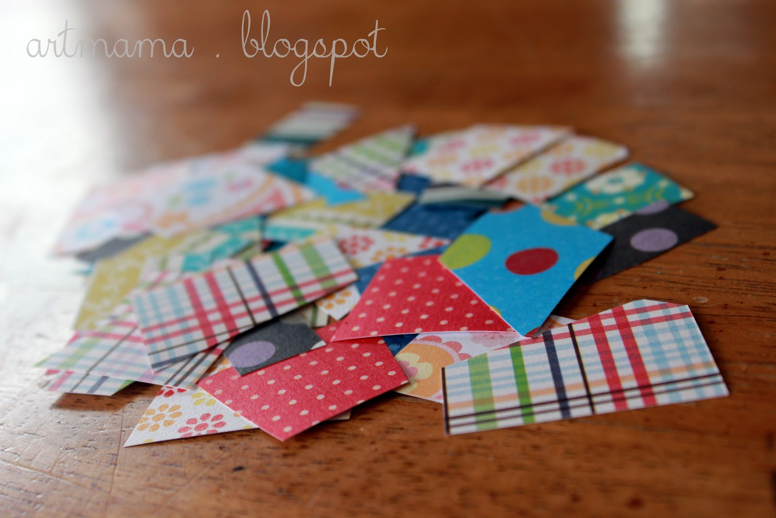 Scrapbook paper craft ideas - We Mostly Used Scrapbook Paper Scraps Leftover From Other Projects But Wrapping Paper Plain Construction Paper Or Even Real Fabric Scraps Are Other