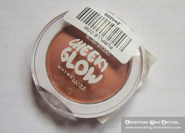 "Maybelline Cheeky Glow Blush ""Creamy Cinnamon"" : Swatch, Review And FOTD"