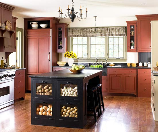 Over 30 colorful kitchens the cottage market for Kitchen ideas pinterest