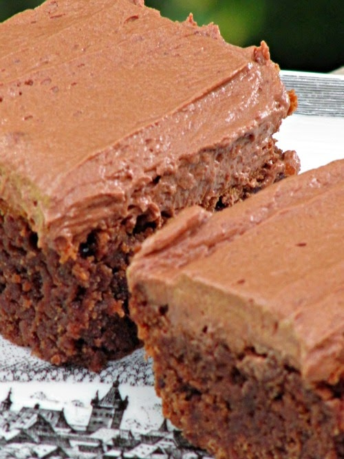 ... : Joy the Baker Chocolate Brownies with Whipped Butter Cream Frosting