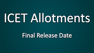 ICET 2014 Seat Allotments Final Release Date