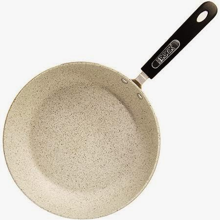 how to clean rock frying pan