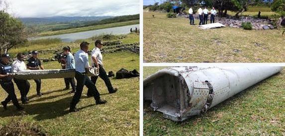 Gambar MH370 Dijumpai di Pulau Reunion