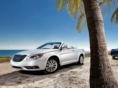 2011 Chrysler 200 Convertible on sea
