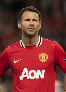 Ryan Giggs Manchester United Basel UEFA Champions League