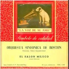 Ritmos del ayer aaron copland el sal n m xico 1936 for Aaron copland el salon mexico