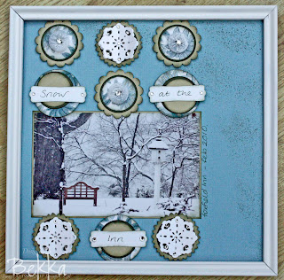 Foxfield Inn Scrapbook Page