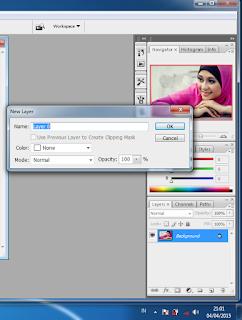 manipulasi photoshop cs3 untuk seleksi dengan polygonal lasso tool