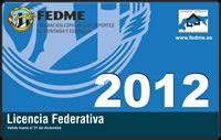 Tramitacion Licencia Federativa 2012