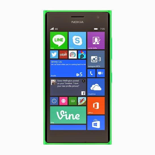 Microsoft Lumia 730 Dual SIM green