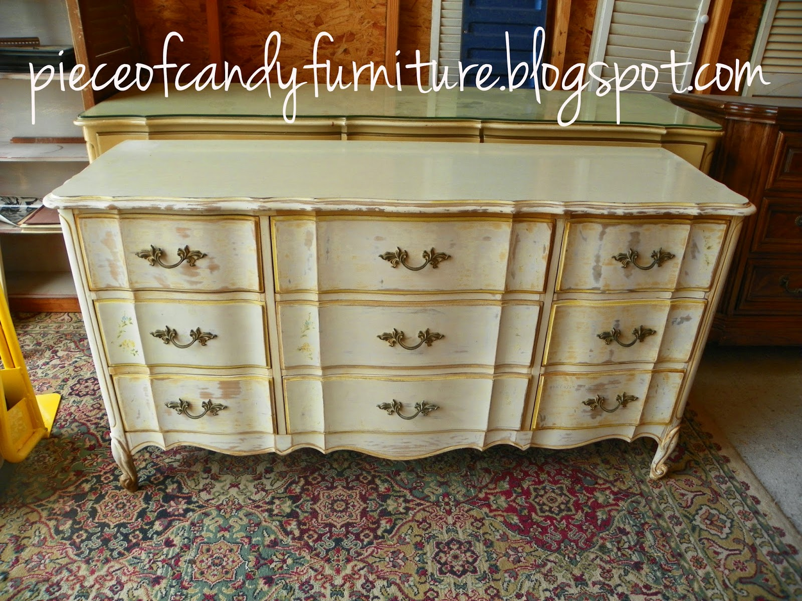 Piece Of Candy Furniture French Provincial Dixie Triple