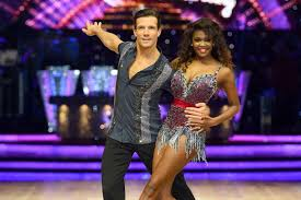 Danny Mac and Partner Oti Mabuse