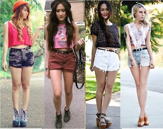 Cropped com shorts
