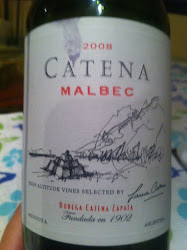 This Catena Malbec is a winner!