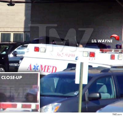 fotos de lil wayne saliendo del hospital
