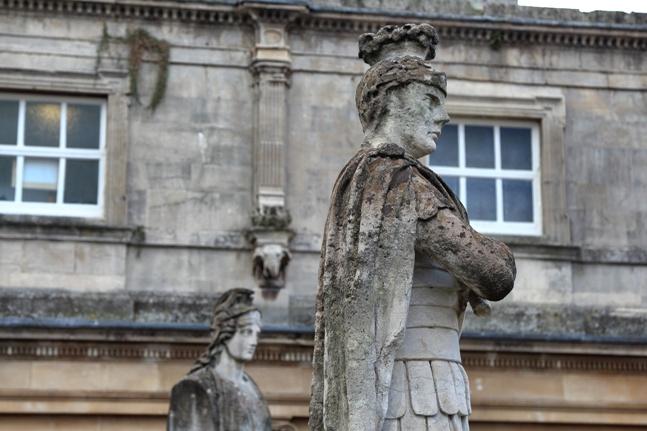Roman baths de Bath