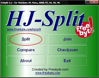 Cara Menggabungkan File Video mkv dengan menggunakan HJsplit