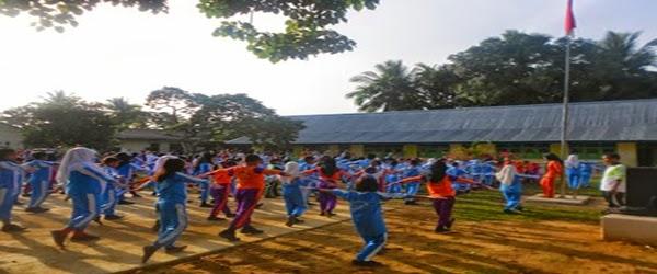 Kegiatan Senam Ayo Bergerak Indonesia