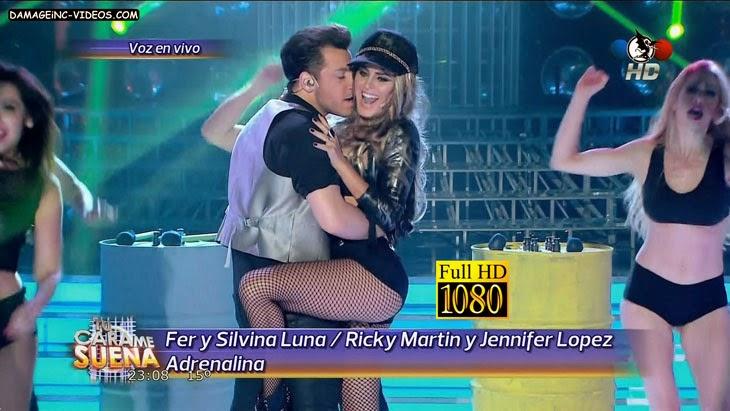 Argentina Celebrity Silvina Luna big ass dance Full HD video