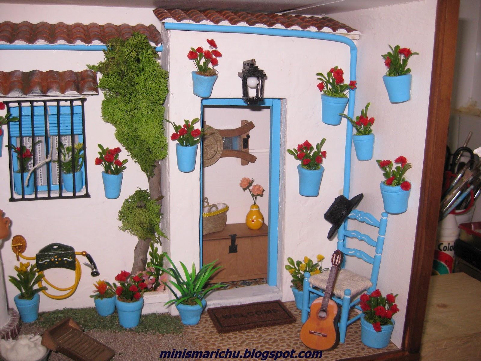 Las minis de marichu patio cordob s for Patios andaluces decoracion