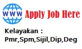 Apply Job Here - Pelbagai Jawatan Kosong Terbaru