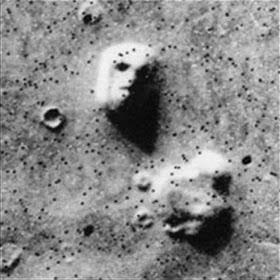 Το πρόσωπο του Αρη