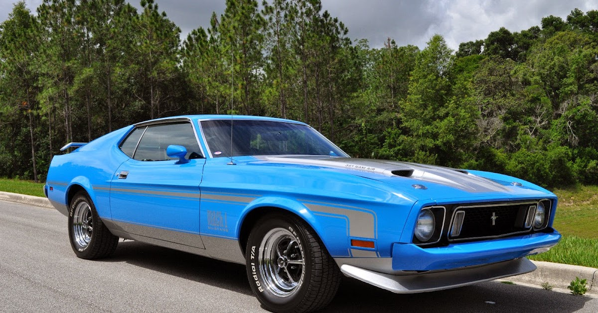 1973 ford mustang mach 1 q code for sale american muscle for Old american muscle cars for sale