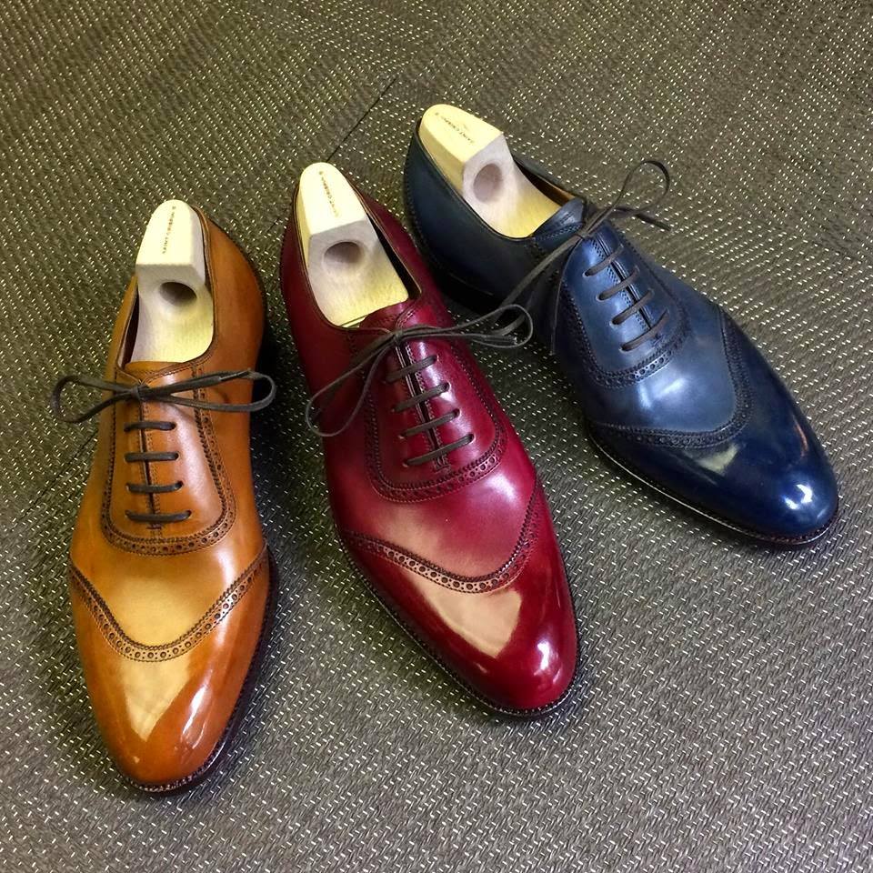 the dandy fashion the new colors of s dress shoes
