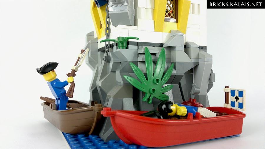 04. Piraci podpłynęli łodziami.