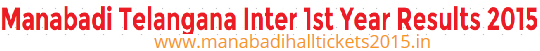 telangana inter 1st year results 2015
