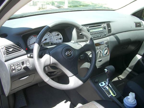 2005 Toyota Corolla S Interior