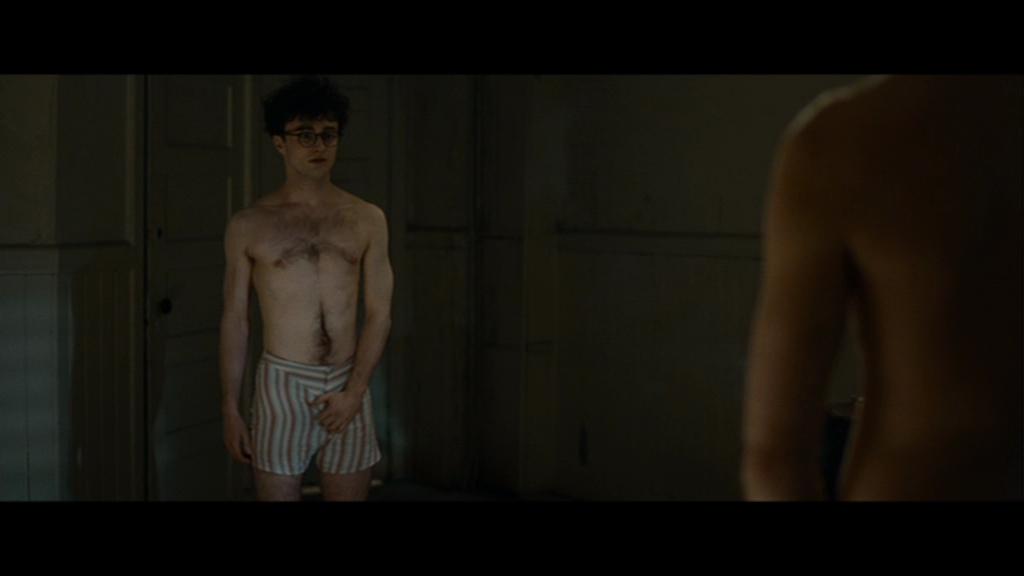 What words..., Shirtless daniel radcliffe naked here