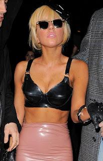 Lady Gaga calvin klein lingerie