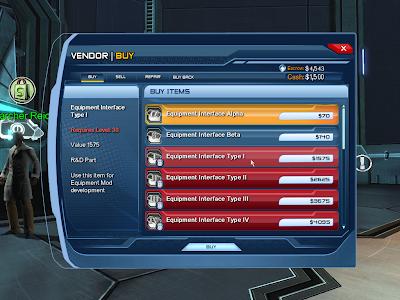 DC Universe Online - Equipment Interface Alpha