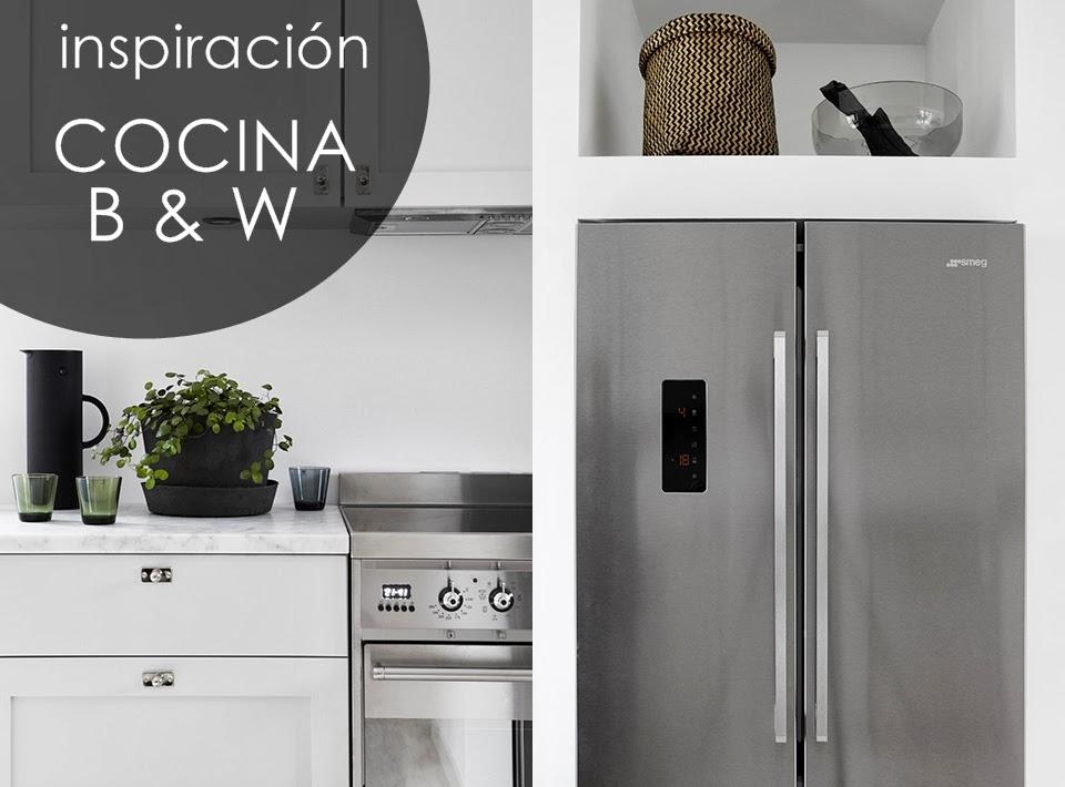 idea-deco-cocina-blanco-negro-moderna-nordica-office-black-white