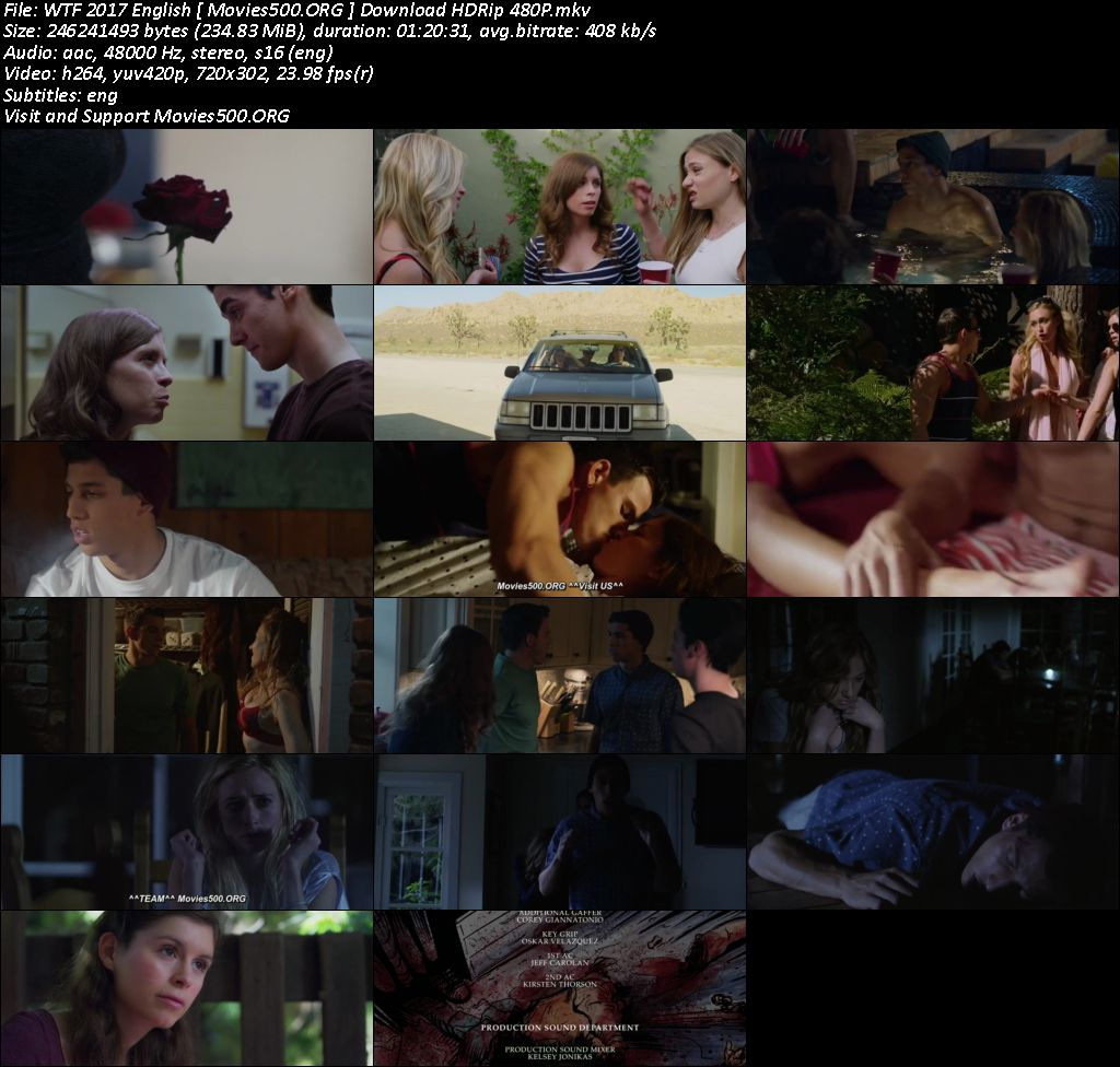 Wtf! 2017 Hollywood 18+ Movie Download HDRip 480p Esubs at xcharge.net