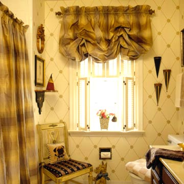 Single window treatment ideas houzzz home designs for International decor window treatments