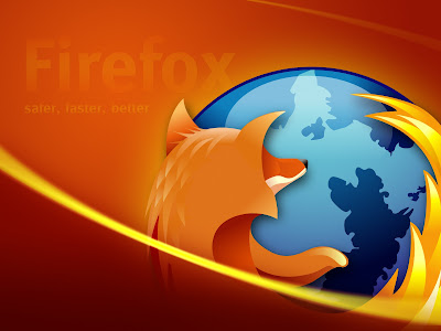 Mozzila Firefox - Safer Faster Wallpapers