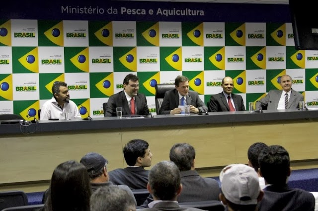 Posse do superintendente federal da Pesca e Aquicultura no DF
