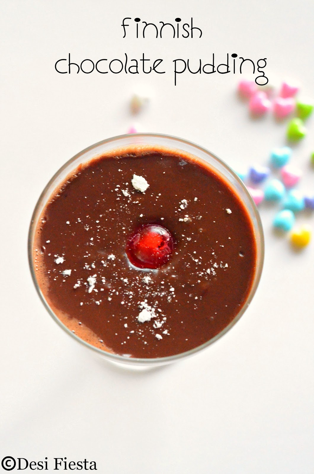 Light chocolate pudding recipe