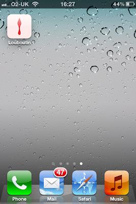 Christian Louboutin iPhone Application