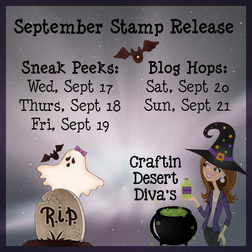 CDD September Stamp Release Dates
