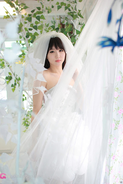 5 Yeon Da Bin in Wedding Gowns-Very cute asian girl - girlcute4u.blogspot.com